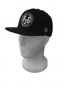 FSG Snapback Cap, Farbe: Schwarz, mit FSG Logo, Größen: Junior und Senior, 21,90 Euro