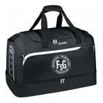 FSG Sporttasche Jako, Farbe: schwarz-grau, mit Bodennassfach und zwei Seitenfächer, mit FSG Logo und Namenskürzel, Taschengröße Junior: 31,90 Euro, Taschengröße Senior: 35,90 Euro