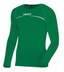 Jako Longsleeve Comfort, Farben: grün oder schwarz, Unterziehshirt, 100% Polyester, 20,90 Euro