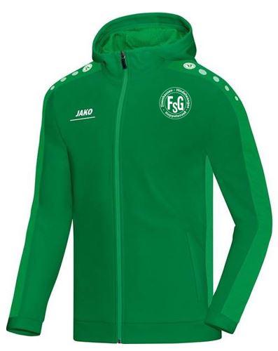 FSG Kapuzenjacke Jako,Farbe: grün, mit FSG Logo, Größen: 116 - XXL, 39,90 Euro