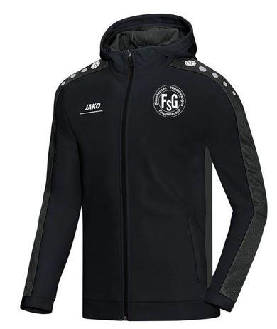 FSG Kapuzenjacke Jako,Farbe: schwarz, mit FSG Logo, Größen: 116 - XXL, 39,90 Euro