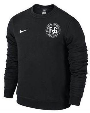 Nike Sweat Team Club, Farben: Schwarz und Grau, 80% Baumwolle - 20% Polyester, 39,90 Euro