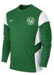 Nike Sweat Top Academy 14, Farben: grün oder schwarz, 100% Polyster, Nike dri-fit Technologie, 32,90 Euro