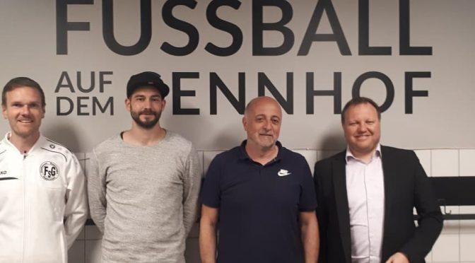 Gino Radice wird neuer Trainer der FSG